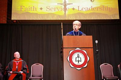58th Academic Awards Day; April 30, 2013. Dr. Bonner