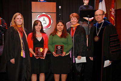 58th Academic Awards Day; April 30, 2013. NCLEX Scholarship Award