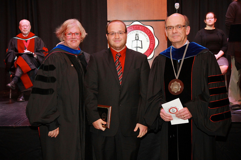 58th Academic Awards Day; April 30, 2013. Stefka Eddins Undergraduate Research Award