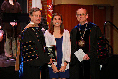 58th Academic Awards Day; April 30, 2013. Ray Webb Lutz Award
