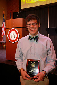 58th Academic Awards Day; April 30, 2013. J.O. Terrell History Award
