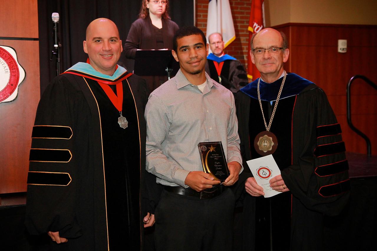 58th Academic Awards Day; April 30, 2013. Sport Management Major Award