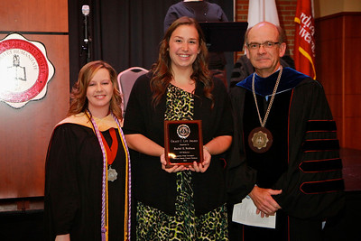 58th Academic Awards Day; April 30, 2013. Grace C. Lee Nursing Award