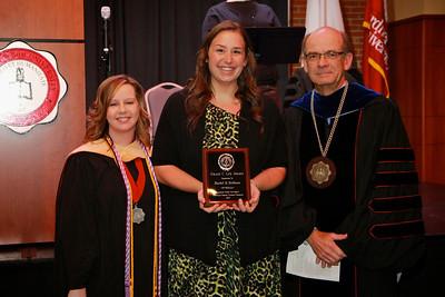 58th Academic Awards Day; April 30, 2013. Grace C. Lee Nursing Award