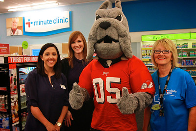 Boiling Springs CVS Minute Clinic Grand Opening and Ribbon Cutting; April 10, 2013.