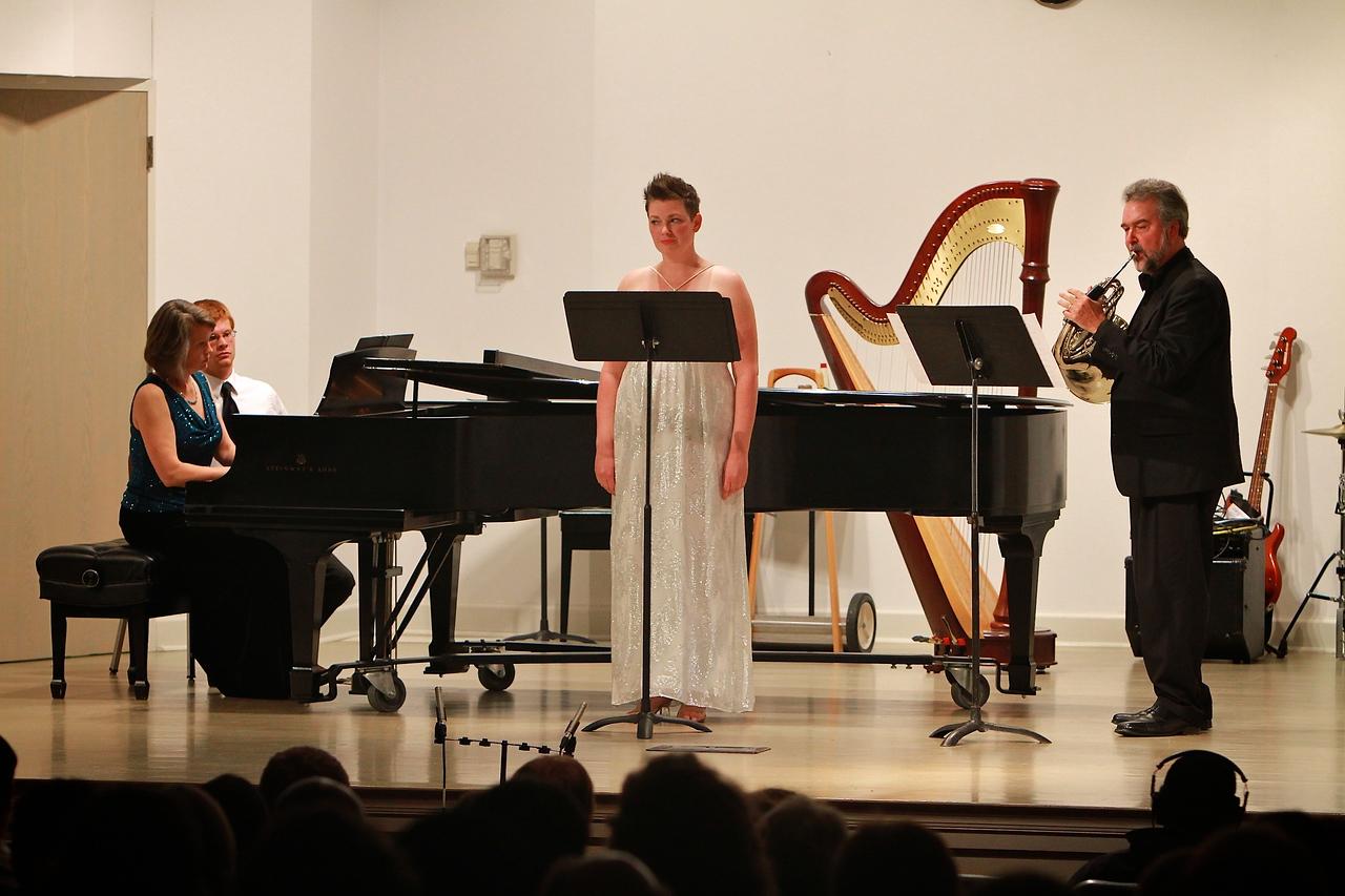 Faculty Music Recital; Spring 2013.