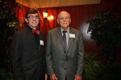Scholarship Luncheon; Spring 2013. Truitt Beard with Delton Barnes