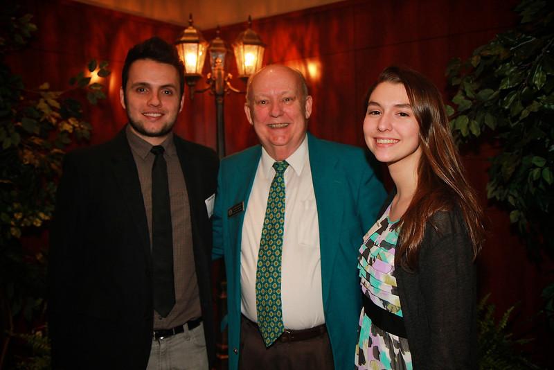 Scholarship Luncheon; Spring 2013. Dr. Bob Morgan