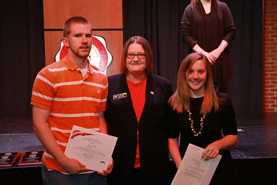 Leadership, Service, Volunteerism Awards Day; Spring 2013.