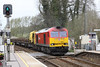 24 April 2013 :: 60092 at Mottisfont & Dunbridge on 6O41 from Westbury to Eastleigh