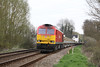 24 April 2013 :: 60092 with Mottisfont & Dunbridge station in the background on 6V41 Eastleigh to Westbury