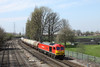 25 April 2013 :: 60059 approaching Millbrook with loaded TTA's from Fawley to Eastleigh, train 6B94
