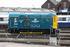 24 April 2013 :: 08650 with Aggregate Indistries branding in Eastleigh works