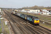 24 April 2013 :: 5Z24 from Crewe to Eastleigh with 47802 & 47841 approaching Eastleigh.  47813 is on the rear