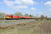 30 April 2013 :: 60063 on 6B33 from Theale to Robeston taken from the field at Milton, Didcot