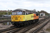 29 April 2013 :: Colas 56087 at Basingstoke working light from Hinksey to Eastleigh, 0Z56