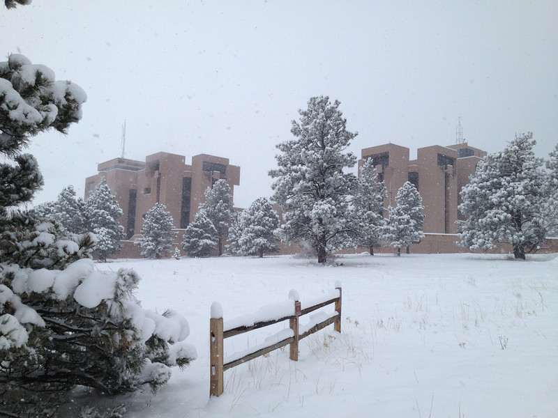 NCAR Mesa Lab in Winter