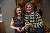 left, Melanie Haas; right, Pat Martin