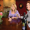 Owners Cheryl Spana (left) and Ginger Baerenwald invite you to stop by and enjoy the wine and the tasting room.