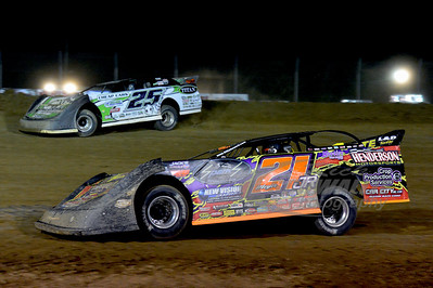 21JR Billy Moyer, Jr. and 25 Jason Feger