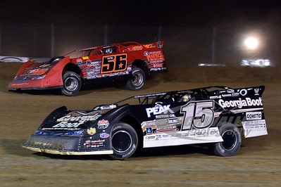 15 Steve Francis and 56 Russ King