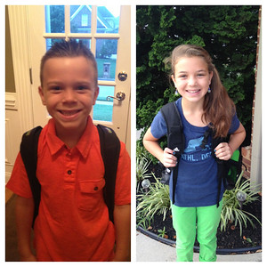 Aug. 8 - First Day Of School