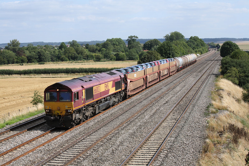20 August 2013 :: 66003 at Cholsey with 6X38 from Marchwood to Didcot