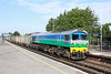 21 August 2013 :: 59005 passing through Basingstoke station working  6O12 from Merehead to Woking