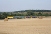 23 August 2013 :: Passing Lichfield is 73213 + 73212 + 73119 + 73208 + 57310 working 0Y62 from Eastleigh to Tonbridge