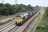 29 August 2013 :: 66512 passing North Staffs Junction with 6M49, loaded coal from Barrow Hill to Rugeley
