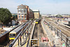 21 August 2013 :: The new footbridge at Reading provides a view of platforms 1, 2 & 3 at the station