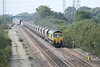 29 August 2013 :: 66509 approaching Stenson Junction working from Rugeley to Hunslet