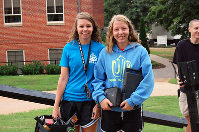 Moving in for Orientation 2013.