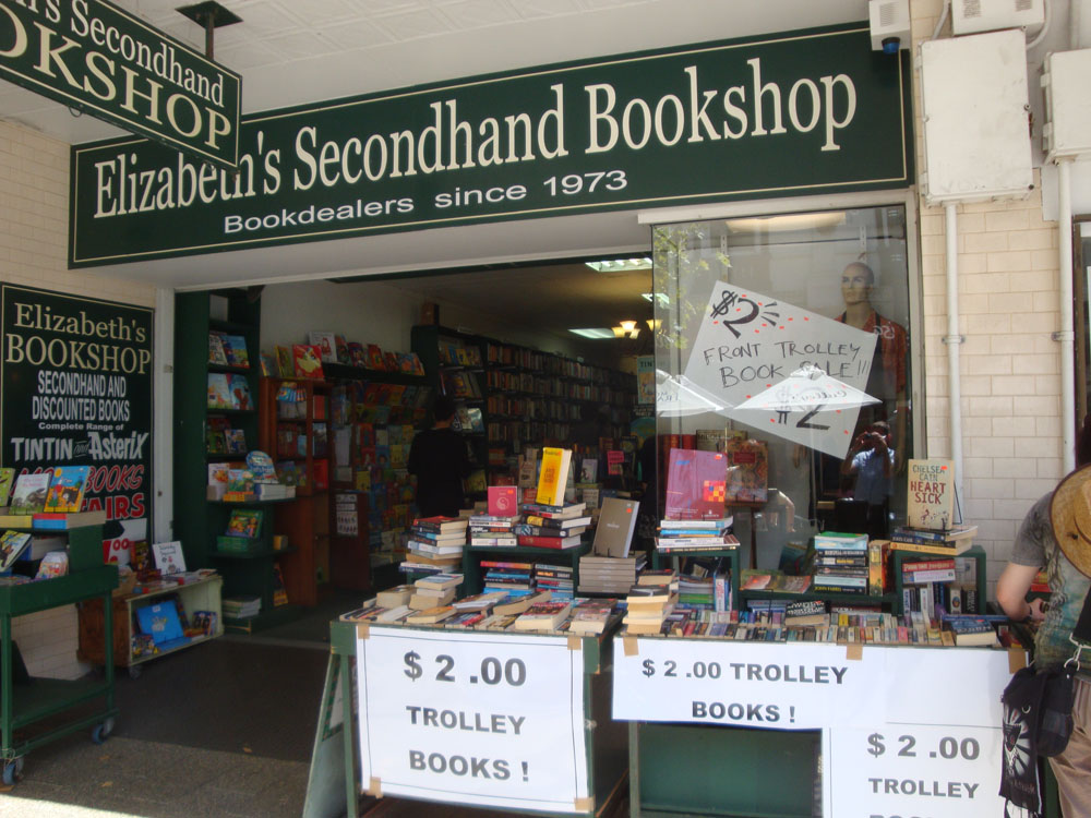 Fremantle is filled with fun and quirky shops. Elizabeth's second hand bookstore is a Perth icon - I think every one of its nearly 2 million inhabitants knows its name.