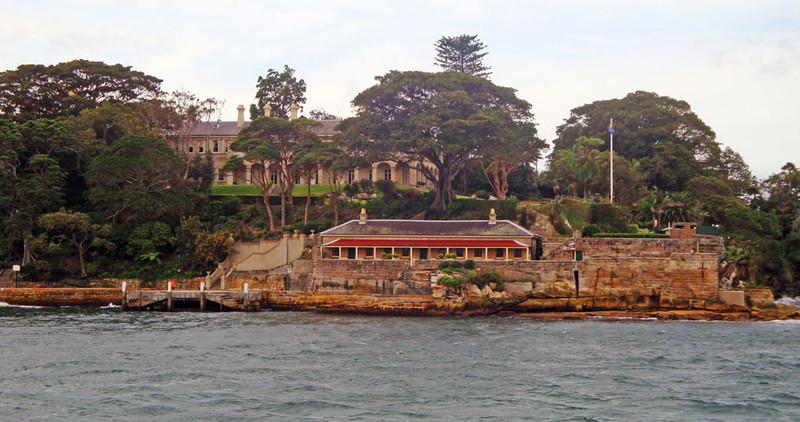 Sydney Harbour colonial building
