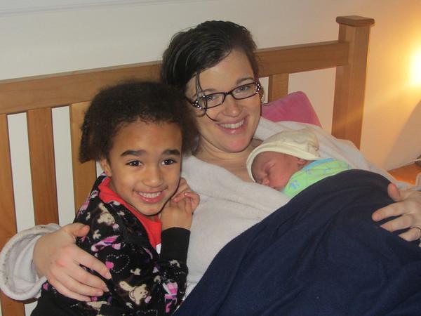Baby Marian Arrives 12/31/2012 & January 2013