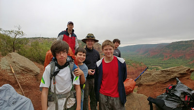 2013 Backpacking at Caprock Canyon