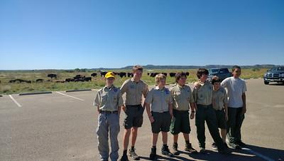 2013 Backpacking at Caprock Canyon