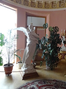 the angel of griefYusupov Palace, St. Petersburg, Russia