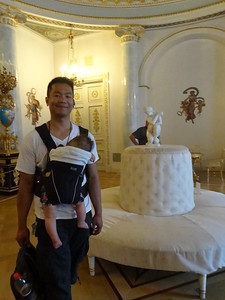 """Honestly....I thought it was a wedding cake.""Yusupov Palace, St. Petersburg, Russia."