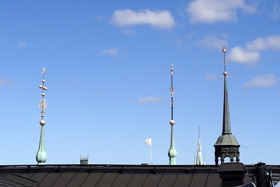 csw3  atop the old Parliament Building, Stockholm