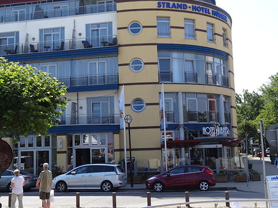is this the hotel where the Stasi put people up so they could eavesdrop on them?