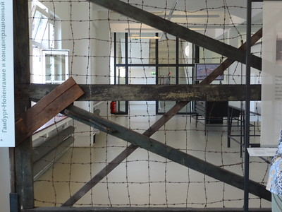 csw4piece of fence; Neuengamme Concentration Camp, Hamburg, Germany