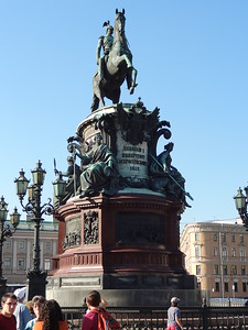 cad3Monument to St. Isaac I, St. Petersburg, Russia