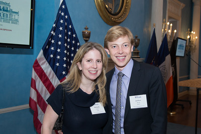 Benjamin Franklin Society New York Reception