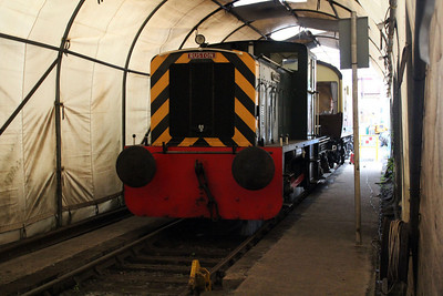 Ind 0-4-0 D2960 outside Kidderminster carriage works.