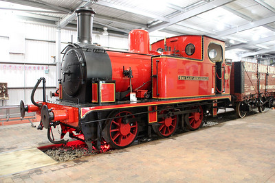 0-6-0T No 686 'The Lady Armaghdale' in Highley Museum.
