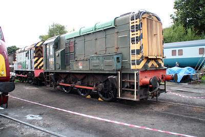 Class 08 D3022 (08022) Kidderminster yard.