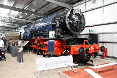 8F 600 'Gordon' in Highley Museum.