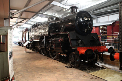 4MT 80079 in Highley Museum.